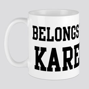 Belongs to Karen Mug
